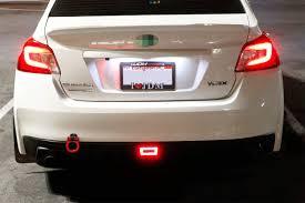3rd Brake Light Wrx Led 3rd Brake Red Rear Tail Lights Bracket Fits 11 16 Subaru