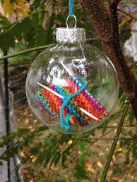 Oh my gosh, I am going to make this. It is so cute. Knit Christmas  OrnamentsChristmas ...