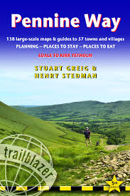 Pennine Way Distance Chart Pennine Way 2019 Edale To Kirk Yetholm Route Guide With