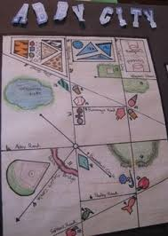 Creative Titles For Math Projects Geometry Town Project Using Geometric Vocabulary To Design