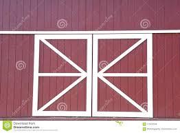 red and white barn doors. Red And White Barn Doors