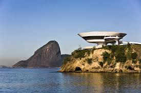 10 most famous architecture buildings.  Buildings Image By WhitelookShutterstock 5 The Museum Of Contemporary Art In  Niteroi Near Rio De Janeiro Brazil On 10 Most Famous Architecture Buildings