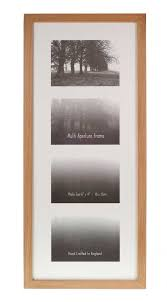 multiple aperture frames 21mm solid oak frame to fit 4 photo s trade s