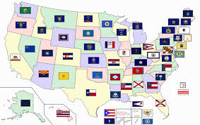 Flag Chart With Names Flags Of The U S States And Territories Wikipedia