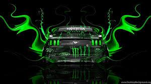 green monster energy wallpaper hd
