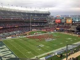 Yankee Stadium Seating Chart Pinstripe Bowl Bowl Game At Yankee Stadium