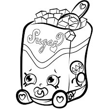 Coloring Pages Free Printable Shopkins Coloring Pages Donut Free