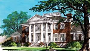 plantation house plans. Delighful Plans Colonial Plantation Southern House Plan 86337 Elevation Inside Plans