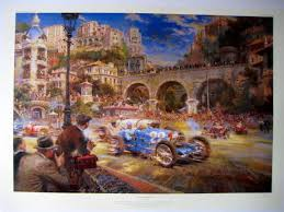 Third edition published 1974, this being the 1979 reprint, of this essential bugatti history, written by the finest of all bugatti authors, hugh conway. Fine Art Print Le Pur Sang Des Automobiles Bugatti Catawiki