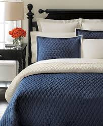 92 best House -Master BdRm images on Pinterest | Good night, DIY ... & Martha Stewart Collection Solid Diamond Navy Quilts - Quilts & Bedspreads -  Bed & Bath - Adamdwight.com