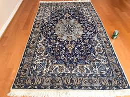 persian area rug hand knotted wool made in iran 6 9 x 3