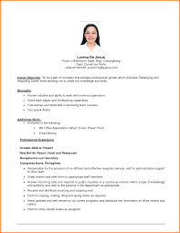 Objective For Professional Resume 24 Resume Job Objective Happytots 22
