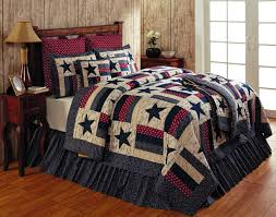 Liberty Pillow Sham - Teton Timberline Trading & Liberty Queen Quilt Set Adamdwight.com