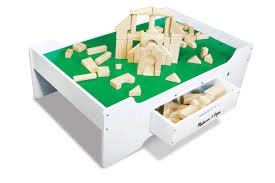 melissa doug multi activity wooden play table castle toys r us melissa request a af