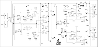 4qd tec joystick interface circuits Western Plow Joystick Wiring Schematic this description refers to circuit of dual axis sum and difference board
