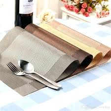 dining table place mats dining table washable dining table mats heat resistant sustainable woven vinyl place dining table place mats