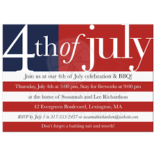 4th of july birthday party invitations for twin