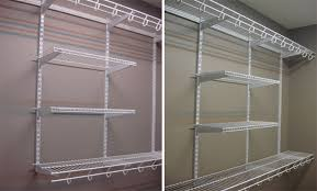 rubbermaid wire closet shelving. Outstanding Rubbermaid Homefree Series 4 Ft Adjustable Mount Wire Shelving For Closet Storage Modern W