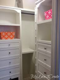 Closet Tower With Drawers Remodelaholic Amazing Diy Master Closet Renovation