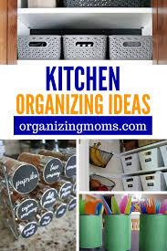 40 Clever Kitchen Organization And Storage Ideas Organizing Moms Gorgeous Kitchen Organization Ideas