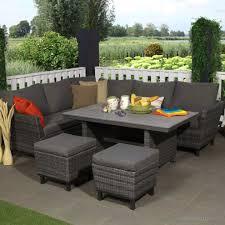 Glänzend Loungemöbel Mit Esstisch Gartenmöbel Ecksofa Oberteil