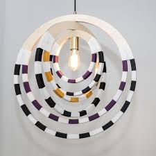 African Pendant Lights Ndebele Necklace Pendant Lighting Violet Pendant