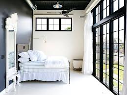 Stunning Wall Trim Designs Black Doors White Trim Bedroom Industrial With  Black Wall White Wood Floors Bathroom Wall Trim Ideas