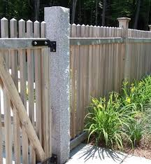 fence post. Woodbury Gray Fence Post, Thermal And Rock Face Post S