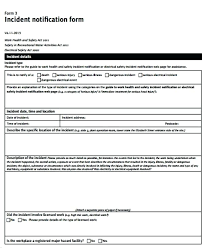 Daily Incident Report Template What Is An Daily Incident Reports