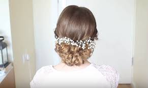 curly updo 10 diy hairstyles for long hair