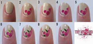 How To Make Simple Nail Art Flowers - Best Nails 2018