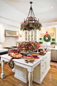 Küche Weihnachtlich Dekorieren Weihnachtskranz Fensterdeko