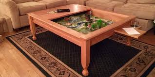 Build your own wood furniture Do It Yourself Completed Gaming Table Geekdad Geek Chic Gone Build Your Own Gaming Table Geekdad