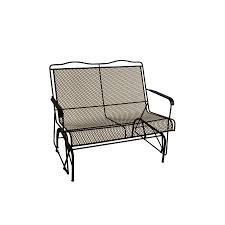 black wrought iron patio furniture. davenport black wrought iron patio rocking chair furniture