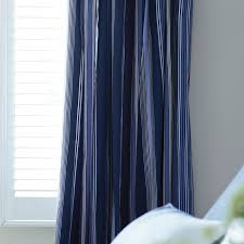 Nice Blue Striped Curtains and Navy Striped Curtains Design Ideas And Decor  ...
