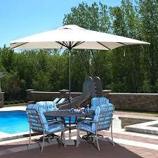 hampton bay offset umbrella p bay square offset umbrella graphite the patio home depot with led hampton bay model 11 ft offset led patio umbrella in tan