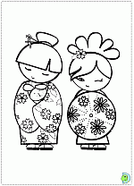 Images Of Japanese Doll Coloring Pages Sabadaphnecottage
