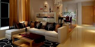 nice modern living rooms:  gallery of modern living and dining room stunning about remodel home decoration ideas