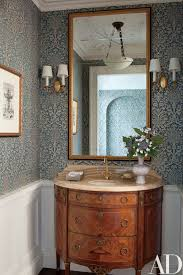 Powder Room Ceiling Light A Spacious Neo Colonial Mansion On Long Island Becomes A