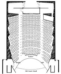 Kimbrough Concert Hall Seating Chart School Of Music
