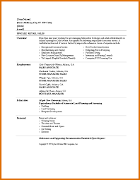 resume templates retail  seangarrette cobasic cv templates retail retail sales resume