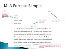 modern language association ppt video online  mla format sample heading is double spaced in the following order