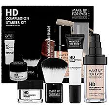 artist starter kit make up forever professional hd plexion starter kit