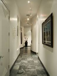 hallway track lighting. Amazing Hallway With White Walls And Framed Wall Picture Also Track Lighting : Fixtures R