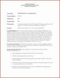 Cover Letter For Paralegal Job Samples Fresh Law Student Resume