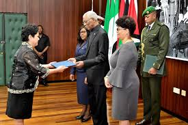 marichu mauro is now accredited as the non resident ambador of the philippines to guyana