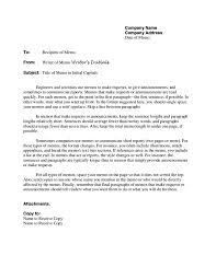 Memo Template How A Business Memo Is Different From A Business Letter Free 4
