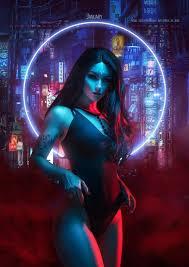 Sort alphabetically / sort by date. Neon Witches Kalender 2019 In 2020 Cyberpunk Art Cyberpunk Girl Digital Art Anime