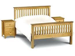 Bed Frame ~ Pine Wood Bed Frame Ikea Denver Low Foot End Antique ...