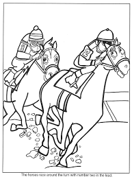 Small Picture Horse Coloring Pages
